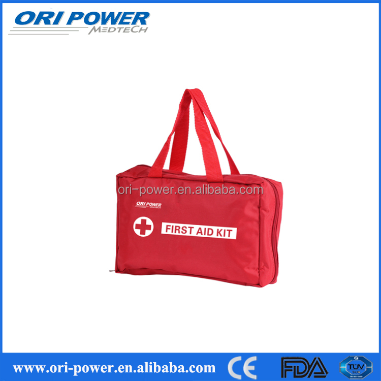 OP promotional CE ISO FDA approved motorcycle car logo first aid kit