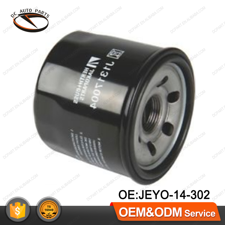 Auto Engine Oil filter for MAZDA MITSUBISHI JEYO-14-302