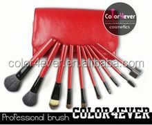 High quality cheap price professional 10pcs makeup brush set no brand wholesale makeup