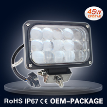 45W LED work light hi/lo beam LED headlight for truck 4D lens
