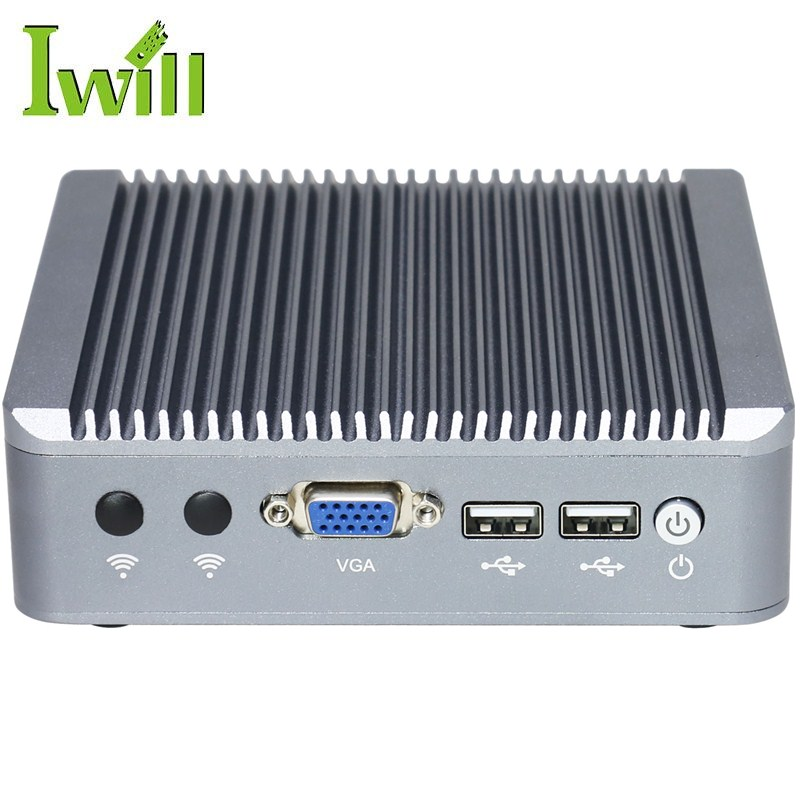 Firewall hardware J1800 fanless 2 ethernet mini pc linux router