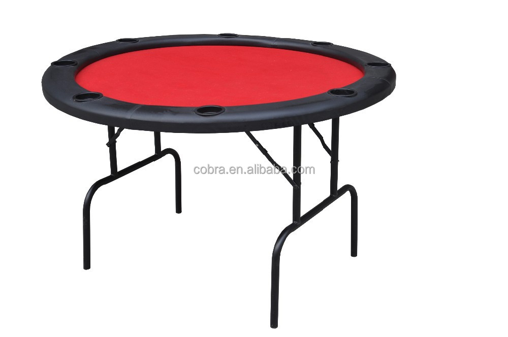 Metal Foldable casino poker table