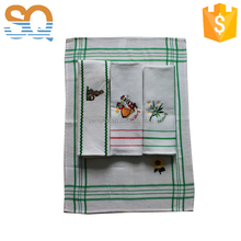 Cotton tea towel fast supply from stock China factory directly