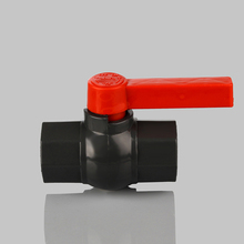 Agricultural Irrigation BS Standard Thread PVC Octagonal Ball Valves With Economical Price