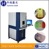 20w high precision enclosed laser cellphone marking machine cellphone case logo printing machine