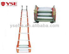 Fire fighting wire rope ladder