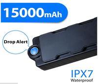 15000mAh Waterproof Magnetic Power Bank Hidden GPS Tracker GSM Listening Device For Asset Safety Motion TK15 tracker