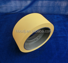 "2 1/2"" NBR rice rubber roller in Begie on aluminium core in rice mill spare parts"