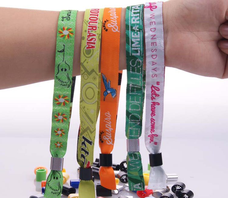 2014 New woven cheap items to sell wrist straps single use bracelet
