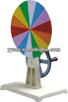 Color disk-physics instrument