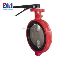 2 Inch For Cement Dn200 Cad Drawing Electric Gearbox Handle Harga Kitz Two Stem Butterfly Valve No Ear