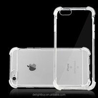 soft tpu Ultra Thin Case Cover Bumper For iphone 6 6s plus Reinforced Frame and Corner Strong Protective case