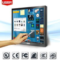 Low price hot sell 17 inch touch lcd screen monitor 17