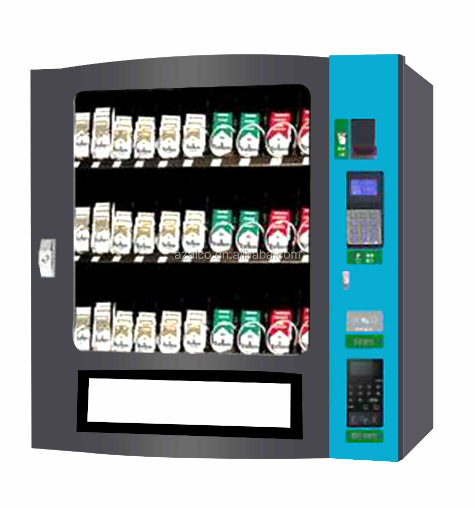Stand floor cigarette vending machine