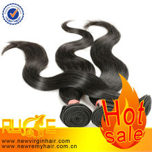 Raw Ponytails One Donor Wavy wholesale 100% human weaving virgin peruvian hair