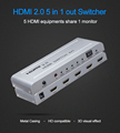 Hdmi 2.0 4K/60Hz Swither Splitter Switch box For Hdtv 5 Port Hdmi input Swithcer