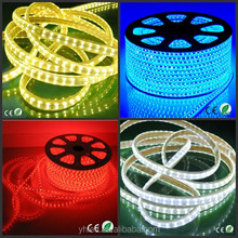 Super bright China suppiler led rgb strip AC 110V 220V SMD 5050 door mirror cover led light