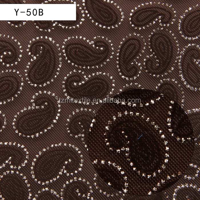 2016 fashion heavy duty polyester print mesh fabric for fashion bag