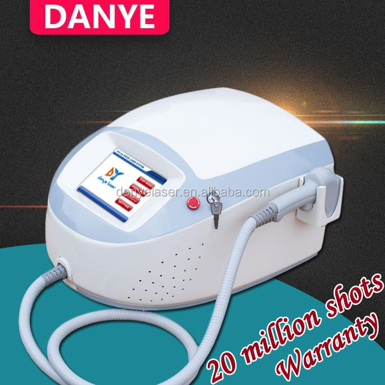 Eyebrow hair removal / 808nm diode laser rust removal hair removal machine
