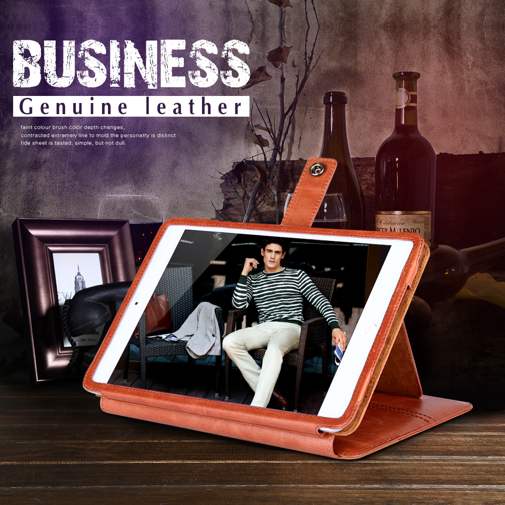 Premium Tablet Leather Case For iPad Cover