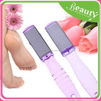 foot grater pedicure , crystal glass foot file ,H0T023