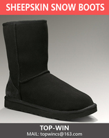 cheap shoes style sheepskin snow boots