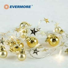 EVERMORE LED Globe Ball String Light for Christmas Tree