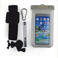 wristband waterproof cell phone pouch for samsung
