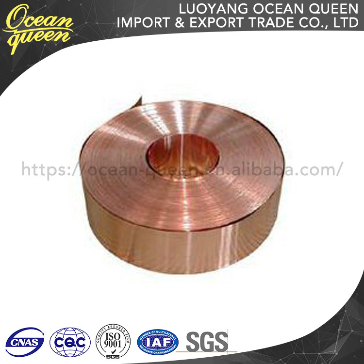 C1100 Red Copper 0.05Mm Mirror Finish Brass Coil