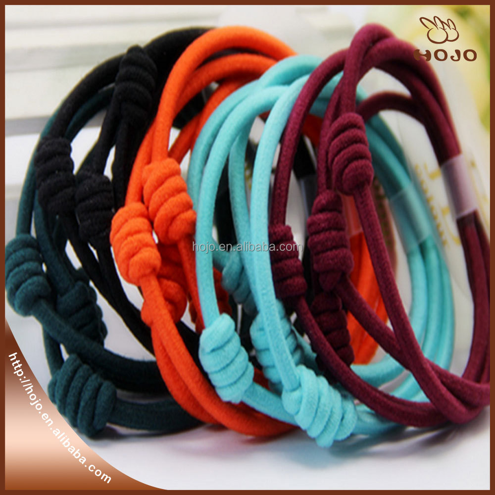 2017 cute hair band rope making hair accessories