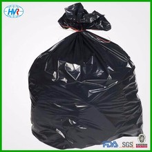 PE plastic star seal garbage bags/vest type in jumbo