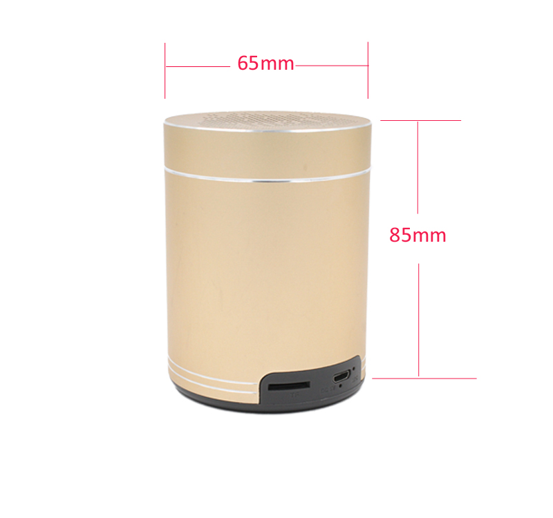 Professional Pipe Mini Speaker With Hand Free