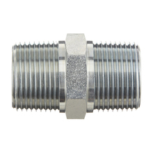 China products Carbon Steel thread galvanized forged Screw hydraulic hose nipple
