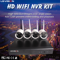 New arrival!!! MINI ip wifi camera wireless hd ip camera hw0025 4ch nvr kit