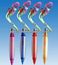 advertising ballpoint pen with rope /feature ballpoint pen