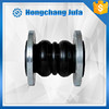 flexible water rubber bellow pressure balance reducing expansion joints