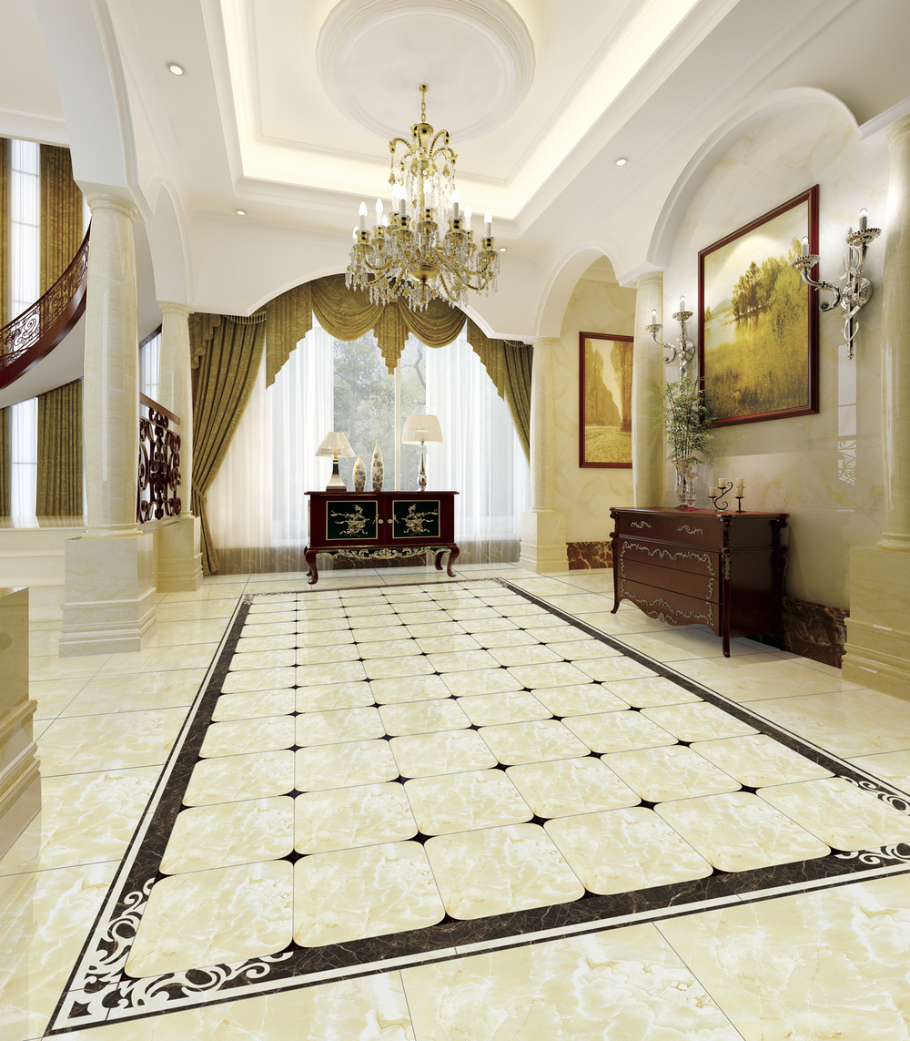 Polished faux marble tile woven vinyl flooring tile buy for Carrelage faux parquet