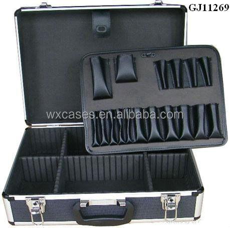 Hot Selling Portable aluminum tool storage box With Fold-down pallet
