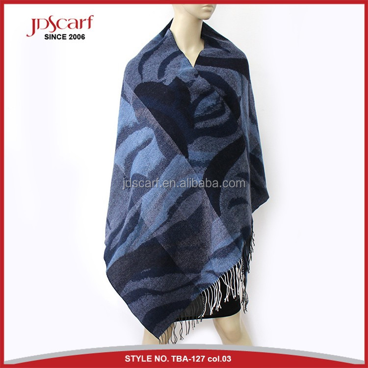 Cashmere feeling soft winter shawl cashmere scarf shawl