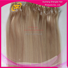 Direct Factory Wholesale Brazilian Micro Bead 7A Human Hair Extensions