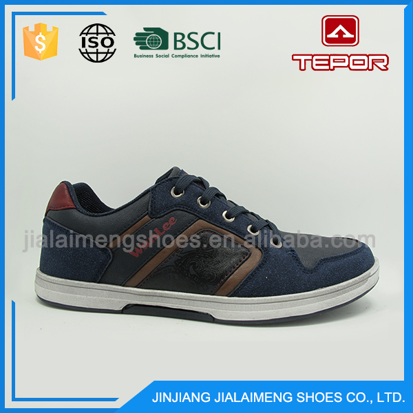 New product vogue blue runnnig sport outdoor men shoes free samples