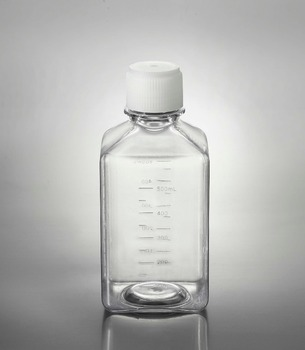Plastic Consumable Sterile Media Bottles