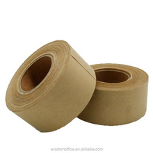 Kraft paper tape for carton sealing ( hot met adhsive , solvent based acrylic ,water based acrylic)