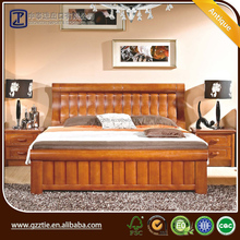 Modern design Contemporary High End wooden oak bed