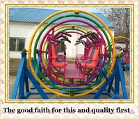 Hot sell amusement rides aerotrim gyroscope for kids mall sale