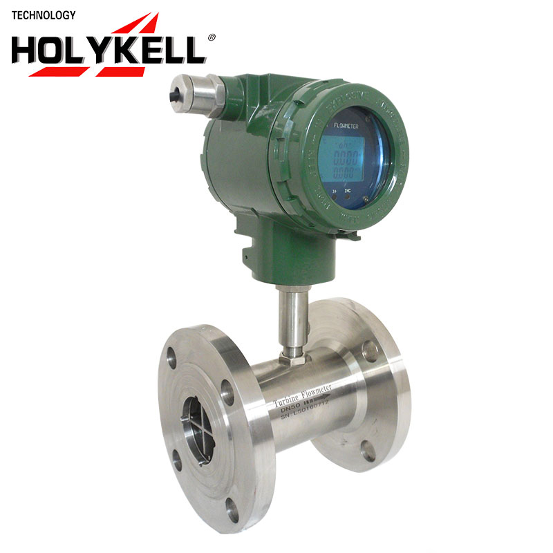High performance explosion proof turbine rotary flow meter