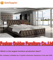 Home furniture bed room king bed wood