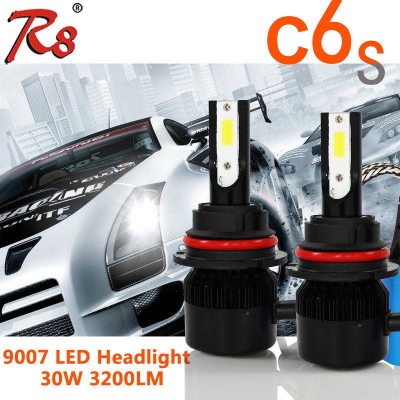 Guangzhou OUSIPU Auto HID Headlight Replacement C6S 9007 For Volkswagen Polo Accessories