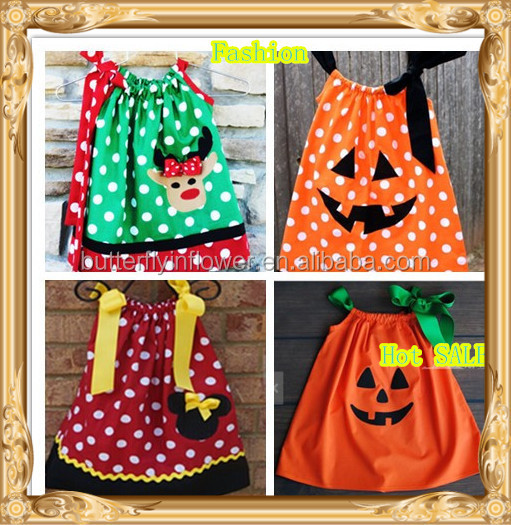 2014 New Design Fashion Baby Dress Beautiful Girl Hand Embroidery Baby Dress Christmas Halloween Baby 1 Year Old Party Dress