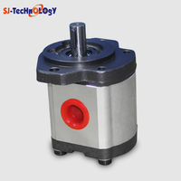 triple high pressure hydraulic gear pump on agriculture machines
